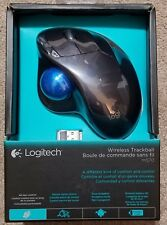 Logitech M570 5 Buttons 1 x Wheel USB RF Wireless Laser Trackball New!