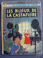 Hergé Les Aventures de Tintin LES BIJOUX DE LA CASTAFIORE E.O. B34 de 1963
