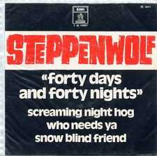 "STEPPENWOLF ""FORTY DAYS, FORTY NIGHTS"" ORIG BR EP 1971 EX/VG++"