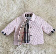 Burberry Long Sleeve Unisex Outerwear (Newborn - 5T)