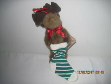 Boyds Ornament Moose Mooselsox 7:New With Tags