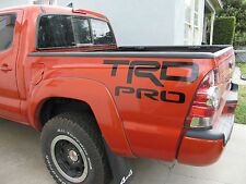 TRD PRO DECAL  PAIR TOYOTA TRUCK VINYL DECALS SIDE GRAPHICS 4X4 PICK COLOR