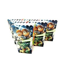 6x Star Wars Popcorn Box Paper Loot Lolly Bag. Party Supplies Bunting Deco