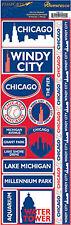 Reminisce Passports-CHICAGO Cardstock Stickers scrapbooking WINDY CITY