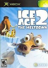 Ice Age 2: The Meltdown (Microsoft Xbox, 2006) DISC ONLY SCRATCH FREE