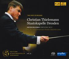 ANTON BRUCKNER: SYMPHONIE NR. 8 Sinfonie Christian Thielemann, 2 CDs, wie neu