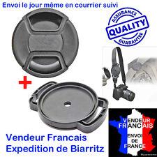 52 mm Bouchon cache Objectif Photo +Porte Bouchon HAUT DE GAMME pour nikon canon