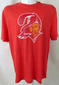"Tampa Bay Buccaneers Men L or 2XL Short Sleeve ""VINTAGE LOGO"" T-shirt ATPA 151"