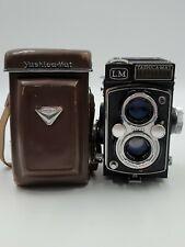 Yashica-Mat Lm 80mm F3.5 & Case Medium Format 120 Mm Film