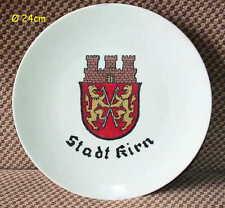 Winterling Porzellan Wandteller 24cm Stadt Kirn Porcelain Wall Plate Bavaria Rös