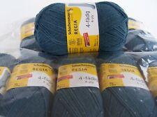 500g (29,90€/kg) Schachenmayr REGIA 4-fädig Sockenwolle uni - 01970 taubenblau