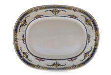 "Minton's Princess K109 Yellow Flower England Oval Serving Platter 15"""