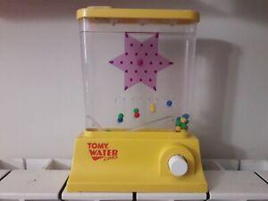TOMY WIZARD WATER GAMES Classico Retrò Vintage star ball starball RARO anni 80