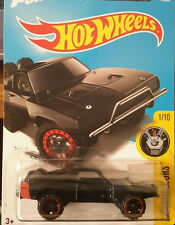 1/64 Hot Wheels Fast and Furious Doms '70 Dodge Charger with tire in the back