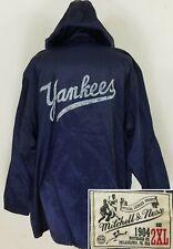 Mitchell & Ness New York Yankees Men's 2XL Parka Full Zip Jacket Nylon Blend NYY