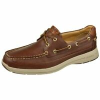 NEW! [STS14746] Mens Sperry Top Sider Gold Ultralite 2-Eye W/ASV Boat Size 9