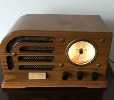 Vintage Crosley Limited Edition Radio w/Cassette 50 Year WWII Commemorative
