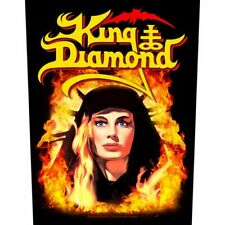 """KING DIAMOND - """"FATAL PORTRAIT"""" - PRINTED SEW ON LARGE SIZE BACK PATCH"""