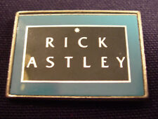 RICK ASTLEY CONCERT TOUR BADGE BUTTON 1987 WHENEVER YOU NEED SOMEBODY