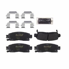 Disc Brake Pad Set Rear AUTOZONE/DURALAST GOLD CMAX-GRI DGC883