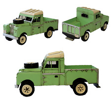 Tin plate Land Rover 1958-1961 Series ll Land Rover Pickup Model Ornament
