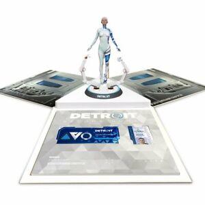 Detroit Become Human Collectors Collector's Edition PC, Pin Set,  Kara Figure a