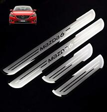 Car Stainless Steel door Sill Scuff Plate for  MAZDA6  2015-2019 MAZDA 6