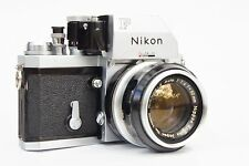Nikon F Photomic FTn 35mm SLR Camera with Nikkor -S Auto 1:1.4 50mm Lens