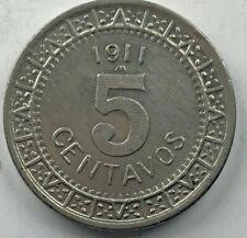1911 Mexico 5 Centavo XF WD KM 421 (M465)