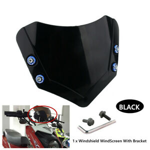Motorcycle Electric Vehicle Handlebar Front Screen Windshield  Instrument Cover
