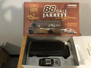 Nascar Racing 1:43 UPS Truck w/ 2002 #88 1:32 Dale Jarrett employee excl. RARE