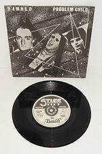 "THE DAMNED PROBLEM CHILD 1977 STIFF RECORDS A1/B1 7"" + P/S - UNPLAYED"