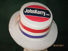"""VTG JOHN KERRY Hat """"Presidential Campaign 2004"""" CLEAN"""