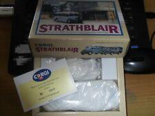 CORGI CLASSICS 97765 STRATHBLAIR BEDFORD OB COACH & MORRIS J VAN  L/E 3064/5310