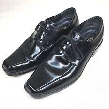 Stacy Adams Men's size 9 Medium Black Oxford Dress Lace Up Shoes Cushion inside