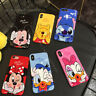 Cute Disney Cartoon IMD Soft Phone Case Cover For iphone XS MAX XR X 6s 7 8 Plus