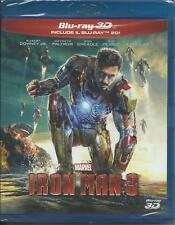 Iron Man 3 3D (2013) 2 Blu Ray
