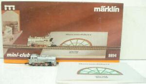 Marklin 8894 Z Mini-Club Museum Steam Locomotive LN/Box