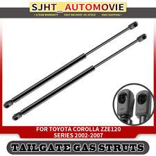 2x Tailgate Boot Trunk Gas Struts fit Toyota Corolla Hatchback 02-07 E120 ZZE120