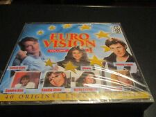 "COFFRET 2 CD NEUF ""EUROVISION - VOLUME 1"" France GALL, Sandra KIM, Marie MYRIAM"