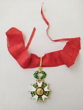médaille officier croix commandeur Ordre Légion d'Honneur vermeil IVe Republique