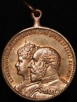 Edward VII & Queen Alexandra 'Crowned June 26th 1902' Medal | Medals | KM Coins