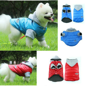 Waterproof Coat For Small Medium Pet Dog Winter Padded Vest Jacket Clothes