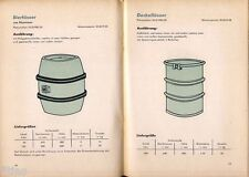 Staatliches Maschinen Kontor Berlin Katalog Transport Fässer Behälter DDR 1966