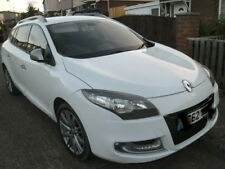 2012 MEGANE GT LINE SPORT TOURER ESTATE £0 TAX 1.5 DCI 6 SPD DAMAGED REPAIRED90%