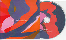 NLF3 Pink Renaissance 2014 UK 9-trk promo test CD