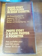 ALBUM PHOTO / TROIS EN UN / PHOTOS 10X15CM / NEUF