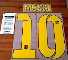 2014-15 MESSI#10 La Liga Home Shirt OFFICIAL SIPESA Football Name Number Set