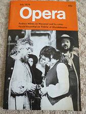 OPERA - JULY 1979