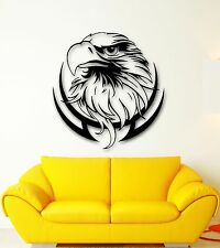 Wall Stickers Vinyl Decal Bird Eagle Tribal Predator Decor for Room (ig571)